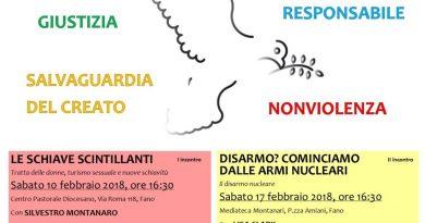 """Scuola di pace """"Carlo Urbani"""" 2018"""